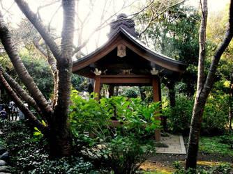 In the garden by AkaneKimiko