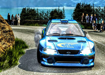 Need for Speed: V-Rally 2 (Subaru) by ROGUE-RATTLESNAKE