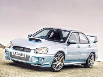 2004 Subaru Impreza WRX STi by ROGUE-RATTLESNAKE
