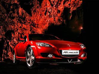Mazda RX8 by ROGUE-RATTLESNAKE