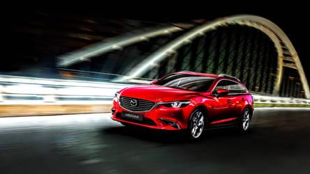 New 2015 Mazda 6 Tourer by ROGUE-RATTLESNAKE