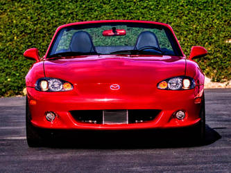 Mazda Speed MX-5 - front by ROGUE-RATTLESNAKE