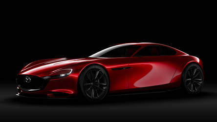 Mazda RX-Vision Concept by ROGUE-RATTLESNAKE