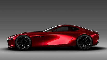 Mazda RX-Vision Concept - Side by ROGUE-RATTLESNAKE