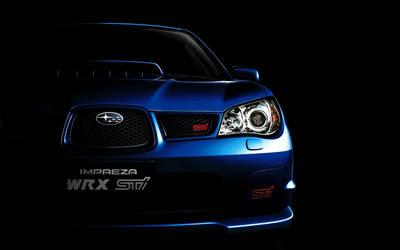 2017 Blue Subaru Impreza WRX STI Wallpaper by ROGUE-RATTLESNAKE