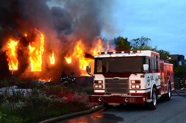 2014 Pierce Enforcer Fire Truck by ROGUE-RATTLESNAKE