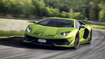 2019 Lamborghini Aventador SVJ Coupe - In Motion by ROGUE-RATTLESNAKE