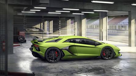 2019 Lamborghini Aventador SVJ Coupe by ROGUE-RATTLESNAKE