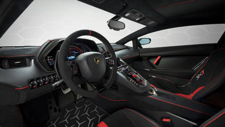 2019 Lamborghini Aventador SVJ Coupe - Interior by ROGUE-RATTLESNAKE