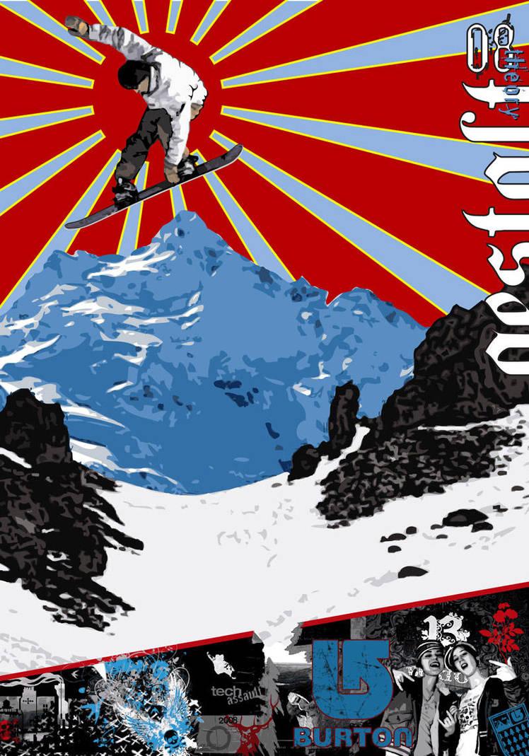 Burton Poster Design 1 by Cypher1368