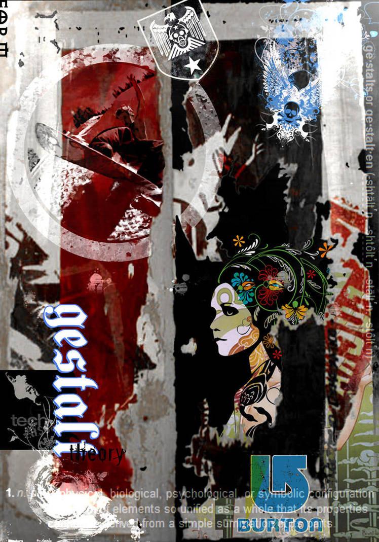 Burton Poster Design 2 by Cypher1368