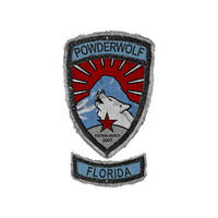 Powderwolf Patch Design - Logo by Cypher1368