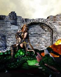 Dragon slayer by vaia