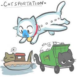 Twitter Catsportation by Mini-Tea