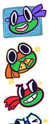 Turtle Bros by Mini-Tea
