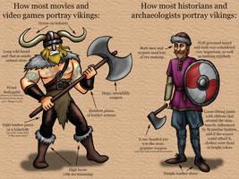 Different Vikings by Blondbraid