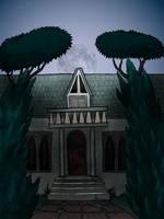 Skeletal House by Blondbraid