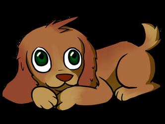 Pup by Blondbraid