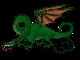 Dragon by Blondbraid
