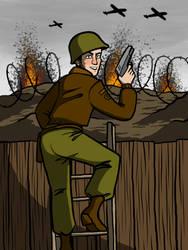 Soldier by Blondbraid