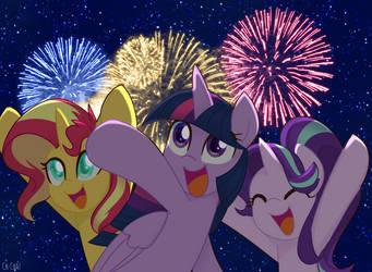 Happy Lunar New Year! by Ch-Chau