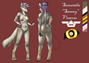 Sammy Character Reference (Commission) by SeptemberSignal