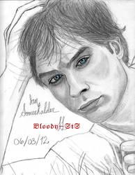 Ian Somerhalder... Blue eyes by Bloody-sts