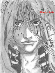 Jin Kazaragi - Area D by Bloody-sts