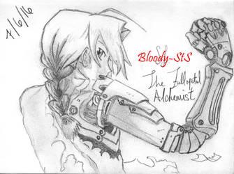Edward Elric - The Fullmetal Alchemist by Bloody-sts