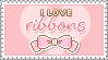 Ribbons Stamp by milkyribbon