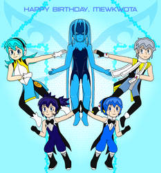MewKwota's Birthday 2018 by AceGreenLegend