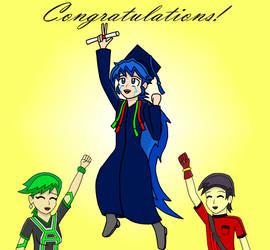 MewKwota's College Graduation! by AceGreenLegend