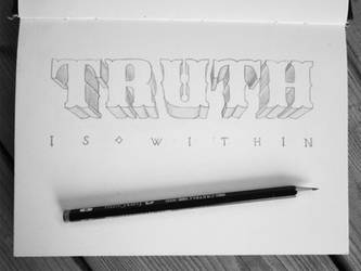 Handlettering: Truth by Play4ce