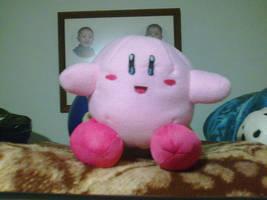 Kirby plushie by DarkBX