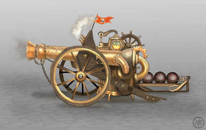 Steam Cannon by Vermin-Star