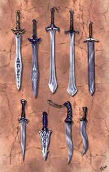 Barclay Blades by Vermin-Star