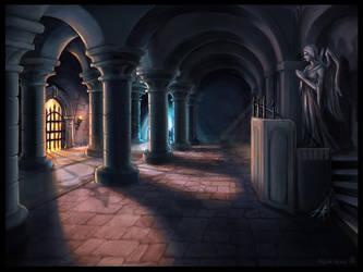 Crypt Interior by Vermin-Star