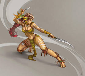 Amazon Warrior by Vermin-Star