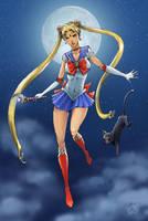 Michael Turner's Sailormoon by darth-iskander