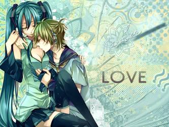 mikuren.love..  :3 by neikoka