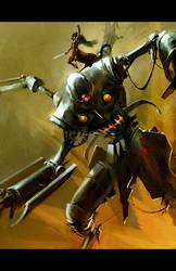centaur robot by tobiee