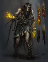 god of war - king midas by tobiee