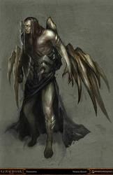 god of war - thanatos by tobiee