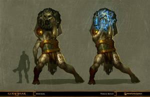 god of war - geryon by tobiee