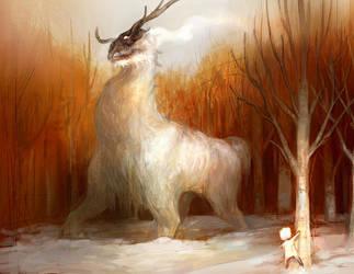 reindeer? by tobiee