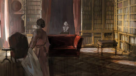 1hr Study - Downton Abbey 02 by tobiee