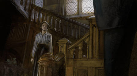 1hr Study - Downton Abbey 03 by tobiee