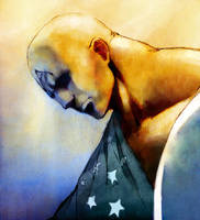 Earth X cap america by tobiee
