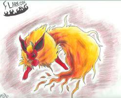 Flareon by Dark-Dragon-Kyra