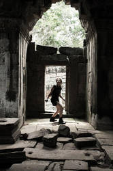 Lara: Improvisation - Cambodia - 23 by Merunit